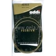 Спицы круговые, супергладкие, никель, 3,0 мм, 100 см.