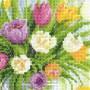 Акварельные тюльпаны. Набор для вышивания.