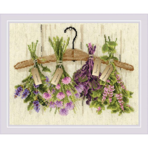 Пряные травы. Набор для вышивания.