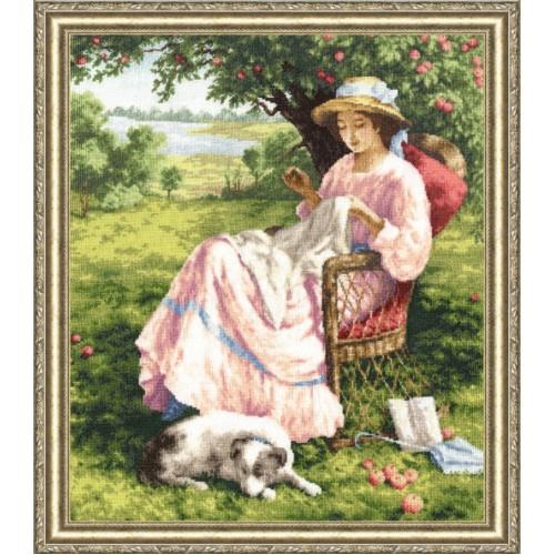 Яблоневый сад. Набор для вышивания