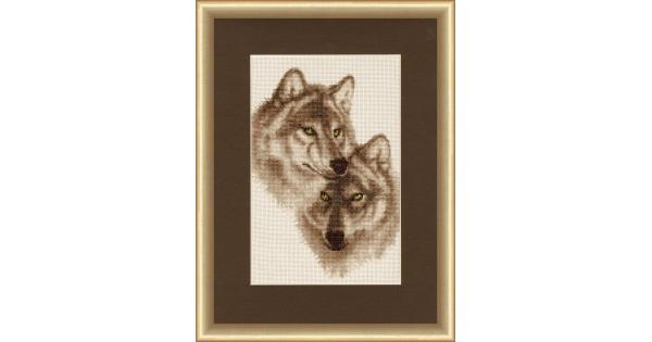 Значение волки вышивка 3
